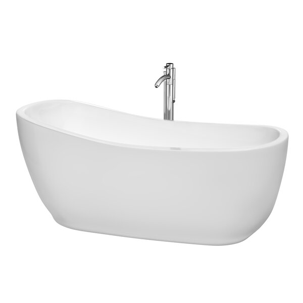 Margaret 66.5 x 27.5 Soaking Bathtub by Wyndham Collection