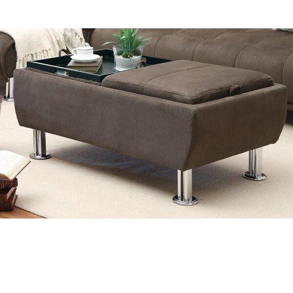 Bussewitz Casual Styled Ottoman by Ebern Designs