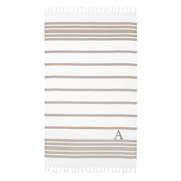 Fortner Pestemal Turkish Cotton Beach Towel by Highland Dunes