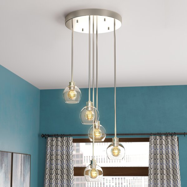 Maria 5-Light Cluster Pendant by Langley Street