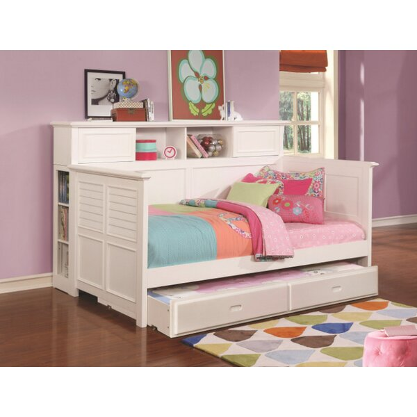 Scotti Twin Daybed with Trundle by Harriet Bee