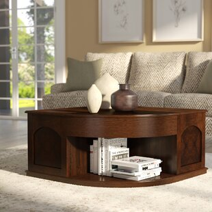 Weidler Double Lift Top Coffee Table With Tray Top Red Barrel Studio