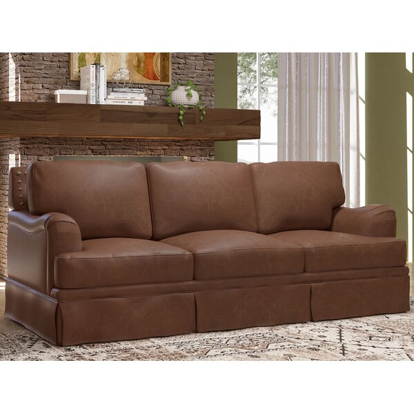 Alto Leather Sofa Bed by Westland and Birch