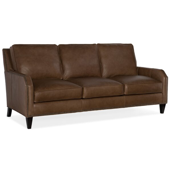 Caroline Leather Sofa By Bradington-Young