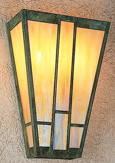Asheville 2-Light Wall Sconce by Arroyo Craftsman