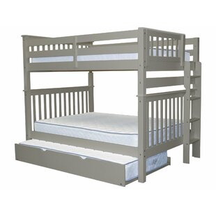 Searching for Treva Full over Full Bunk Bed with Trundle By Harriet Bee