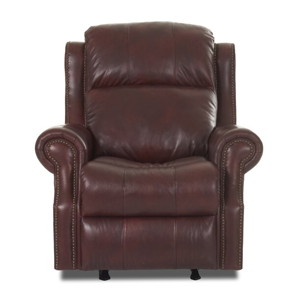 Defiance Recliner with Headrest and Lumbar Support Red Barrel Studio W002208600