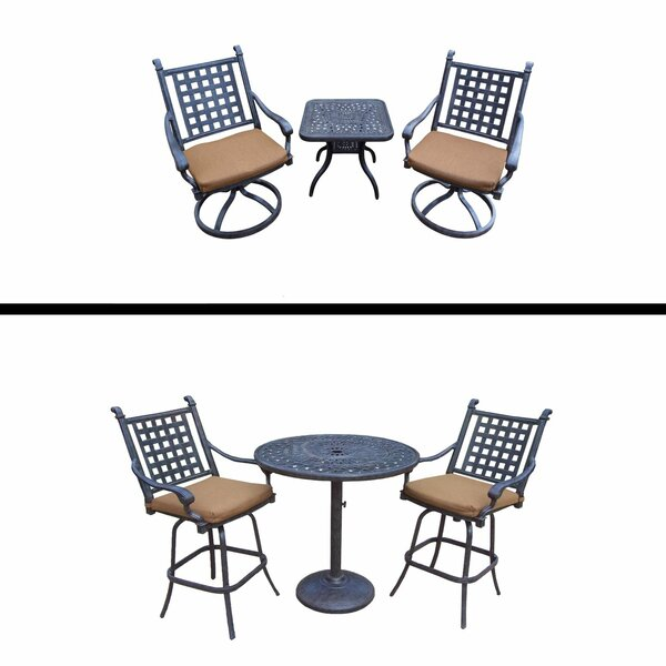 Arness 6 Piece Bar Height Dining Set by Darby Home Co