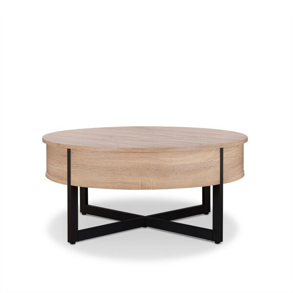 Lonny Sled Coffee Table With Storage By Brayden Studio