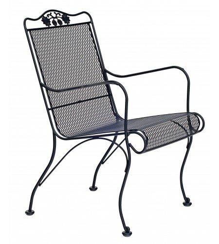 Briarwood High Back Patio Chair by Woodard