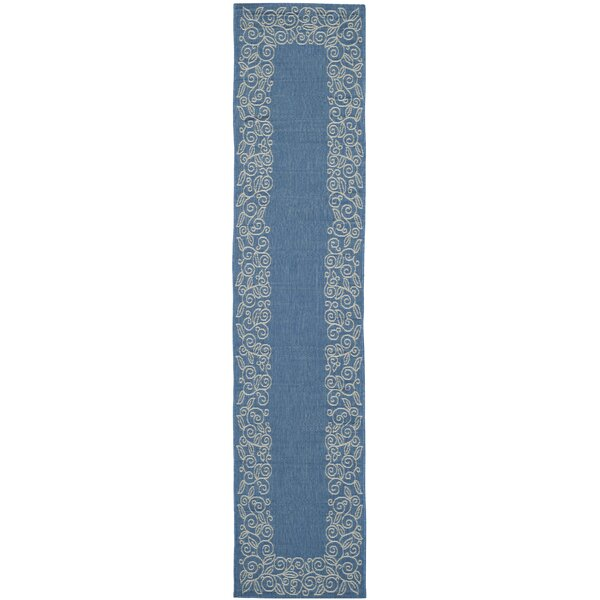 Laurel Blue Area Rug by August Grove