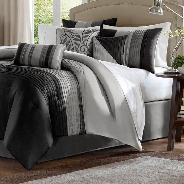 Morell 7 Piece Comforter Set by Charlton Home