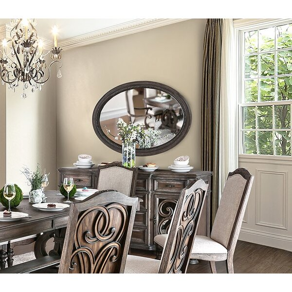 Manuppelli Oval Accent Mirror by One Allium Way