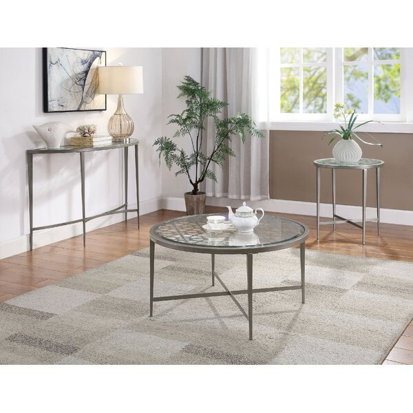 Savanna 3 Piece Coffee Table Set By Latitude Run