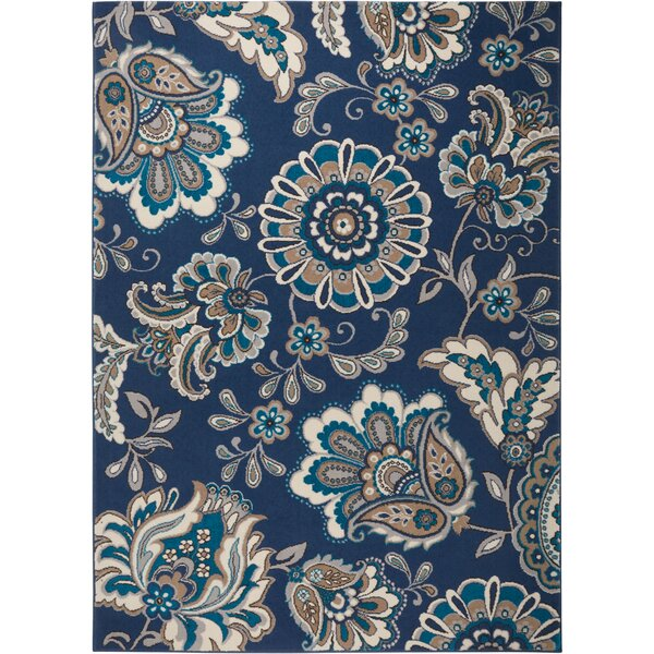 Tremont Blue Area Rug by Andover Mills