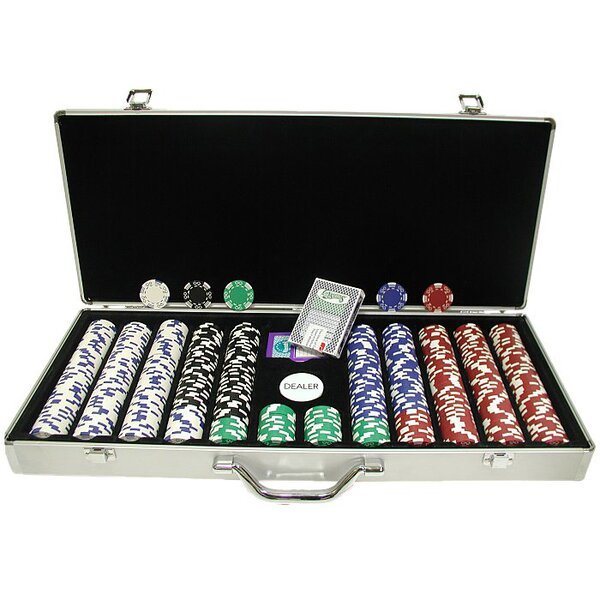 650 Piece Royal Suited Poker Chip by Trademark Global