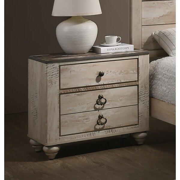 Pliner 3 Drawer Nightstand by Greyleigh