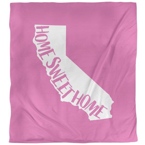 Home Sweet California Duvet Cover