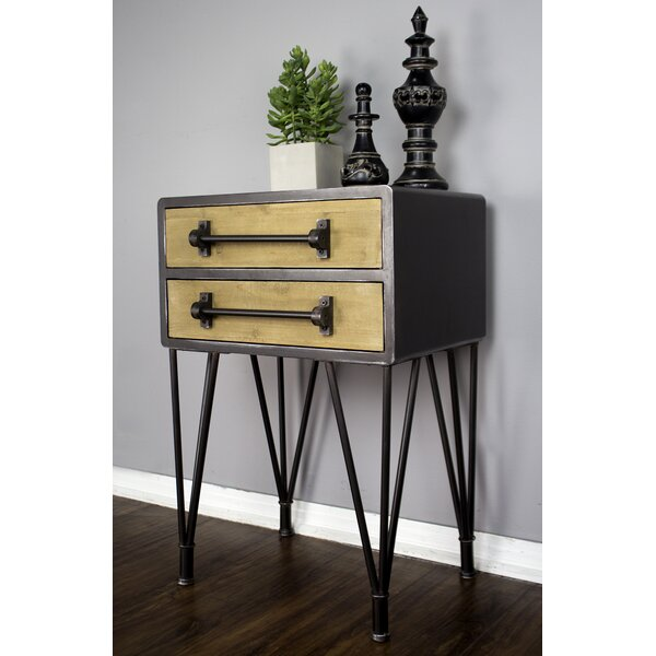 Coulter End Table with Storage by Williston Forge Williston Forge