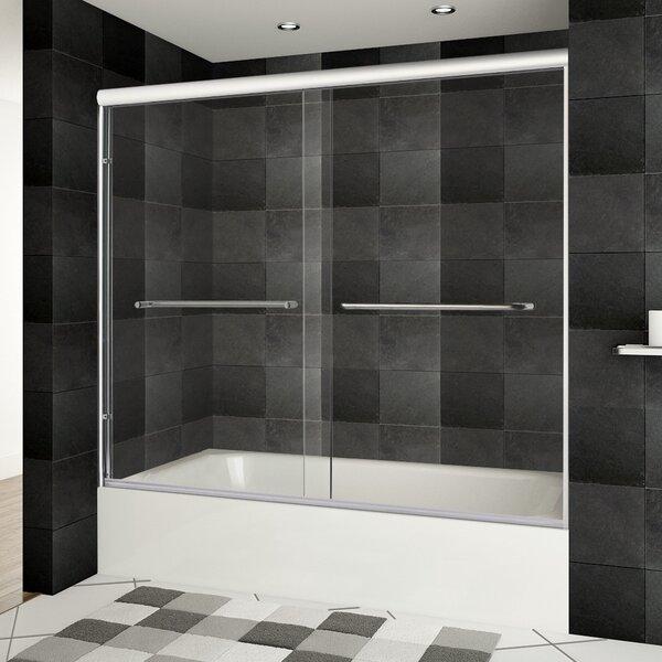 Ultra-A 30.75 x 62 Bypass Bathtub Door by LessCare