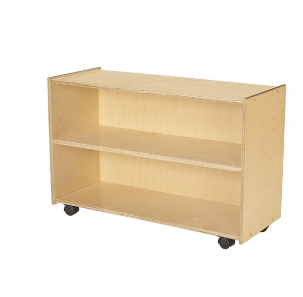 16 Compartment Shelving Unit with Casters by Childcraft