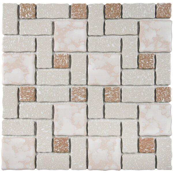 Pallas 11.75 W x 11.75 D Porcelain Tile in Beige by EliteTile