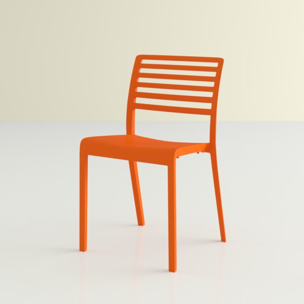 Onfleek Stacking Patio Dining Chair by Hashtag Home Hashtag Home