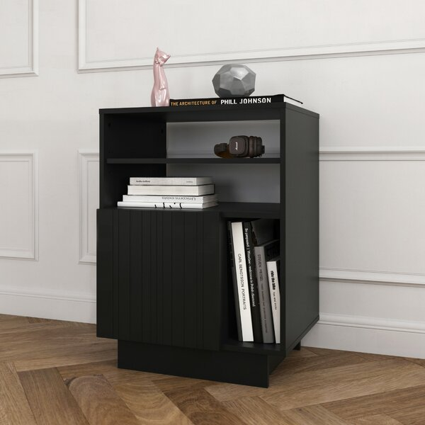 Kandace Audio Tower Entertainment Center by Latitude Run