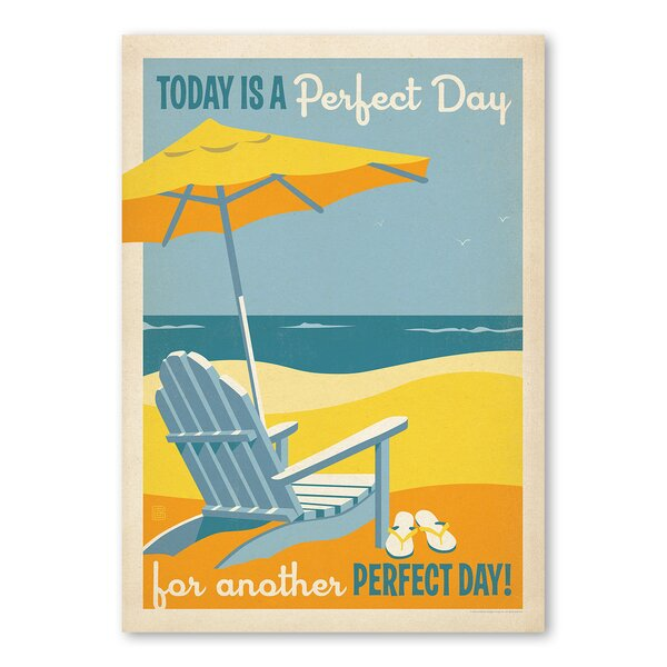 Perfect Day Vintage Advertisement by East Urban Home