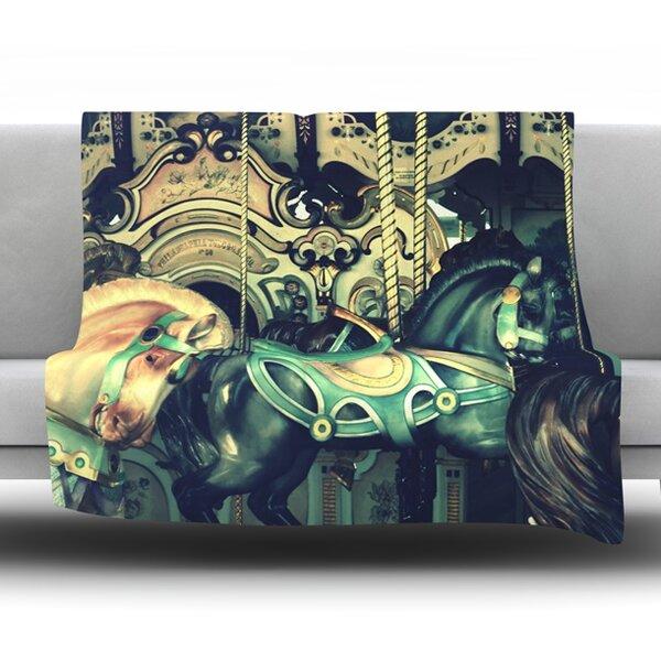 Carousel Throw Blanket by KESS InHouse