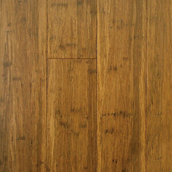 4-3/4 Engineered Strandwoven Bamboo Flooring in Carbonized by ECOfusion Flooring