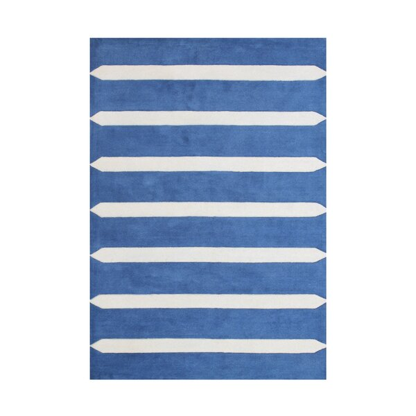 Edgewater Hand Woven Wool Blue Indoor Area Rug by Latitude Run