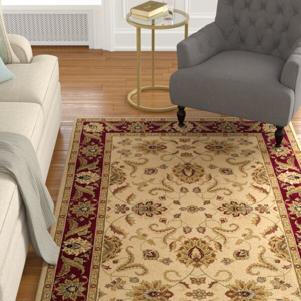 Ardaghmore Ivory Area Rug by Charlton Home