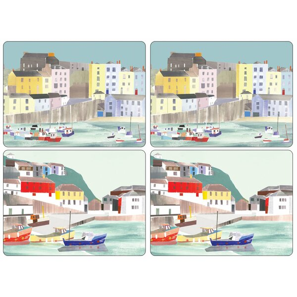 Pimpernel Harbour 16'' Placemat (Set of 4) by Pimpernel