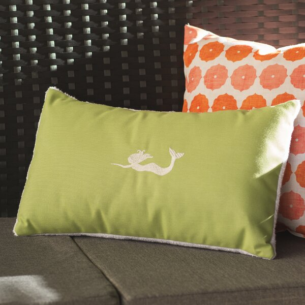 Wimauma Beach Outdoor Lumbar Pillow by Beachcrest Home