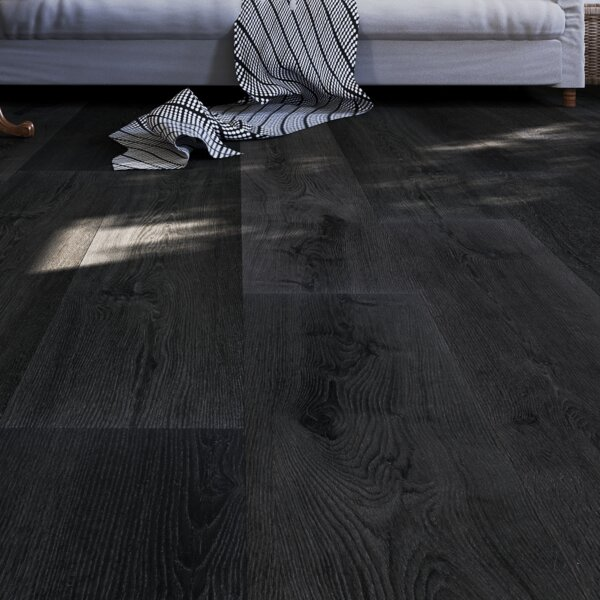 Skyforest 9 x 60 x 8mm Oak WPC Luxury Vinyl Plank in Natural by GoHaus