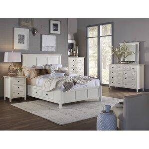 White Bedroom Sets You ll Love   Wayfair Allenville Storage Panel Customizable Bedroom Set. Bedroom Set White. Home Design Ideas
