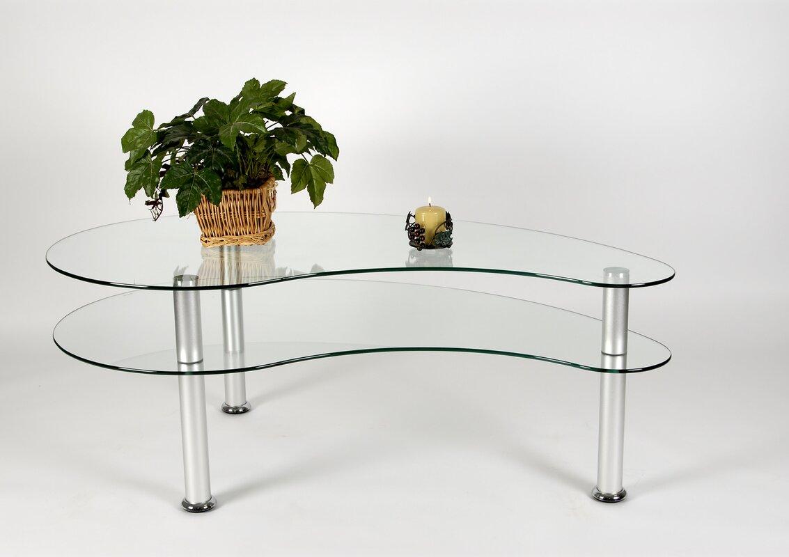 tier one designs 2-tier freeform coffee table & reviews   wayfair