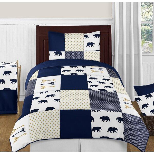 Big Bear Reversible Comforter Set by Sweet Jojo Designs
