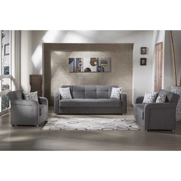 Vision Sleeper Configurable Living Room Set by Orren Ellis