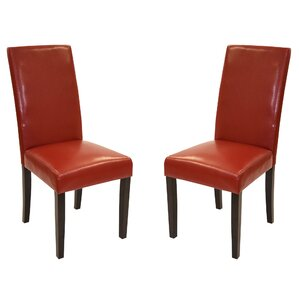 Genuine Leather Upholstered Dining Chair (Set Of 2) Part 43