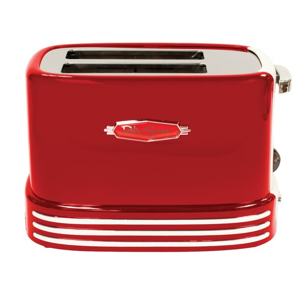 2-Slice Retro Series Toaster by Nostalgia