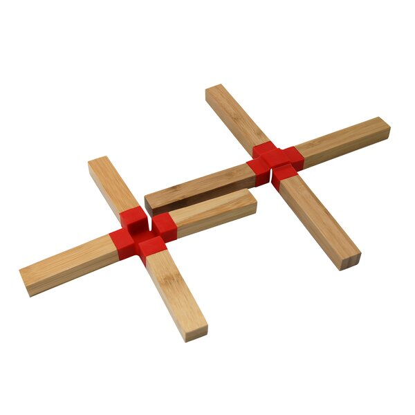 Bamboo Trivet (Set of 2) by Le Chef