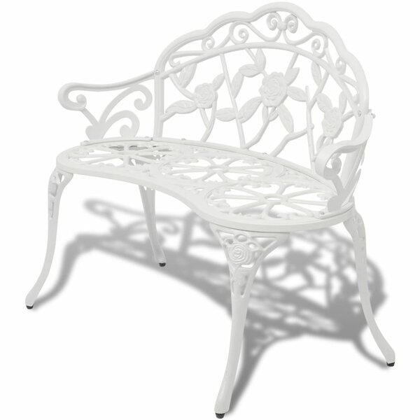 Aluminum and Iron Garden Bench by East Urban Home