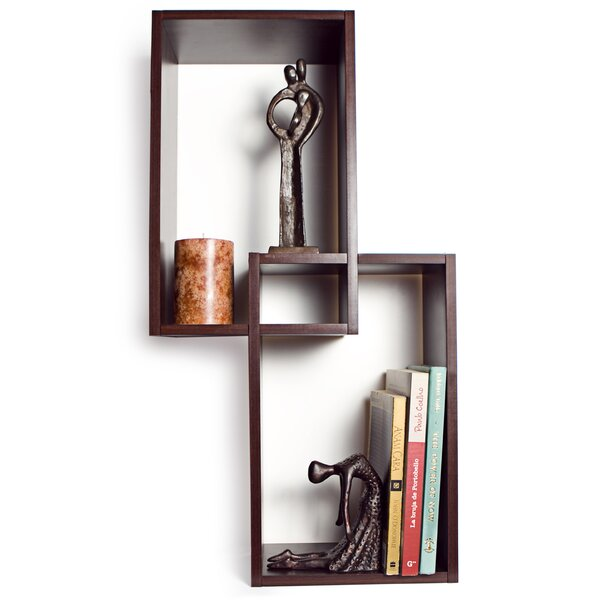 Mount Intersecting Wall Shelf by Danya B