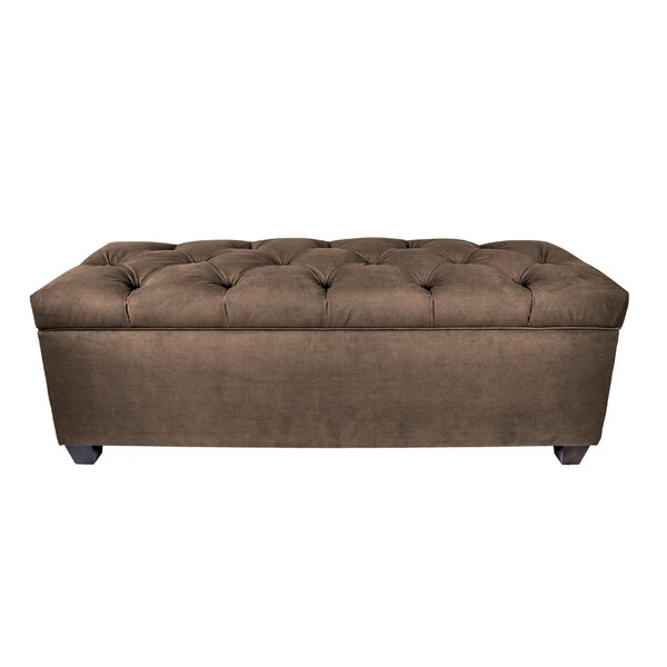 Heaney Sole Secret Upholstered Storage Bench by Alcott Hill