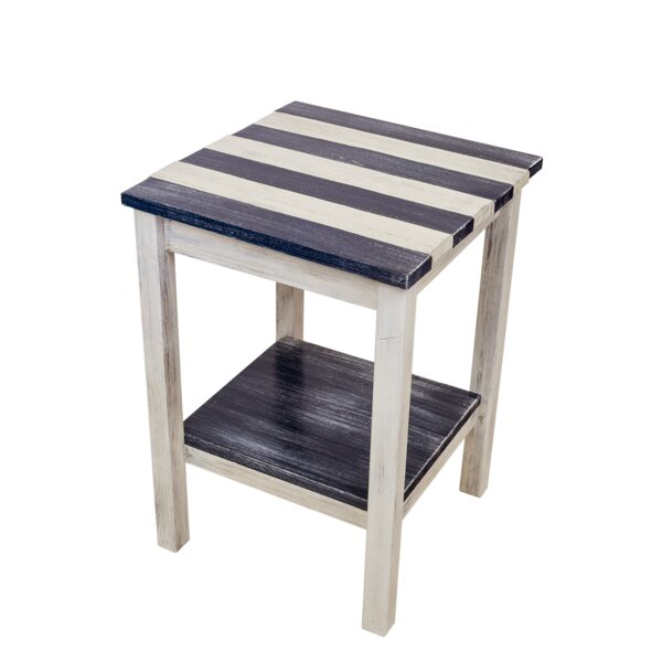 Letendre Solid Wood End Table With Storage By Highland Dunes