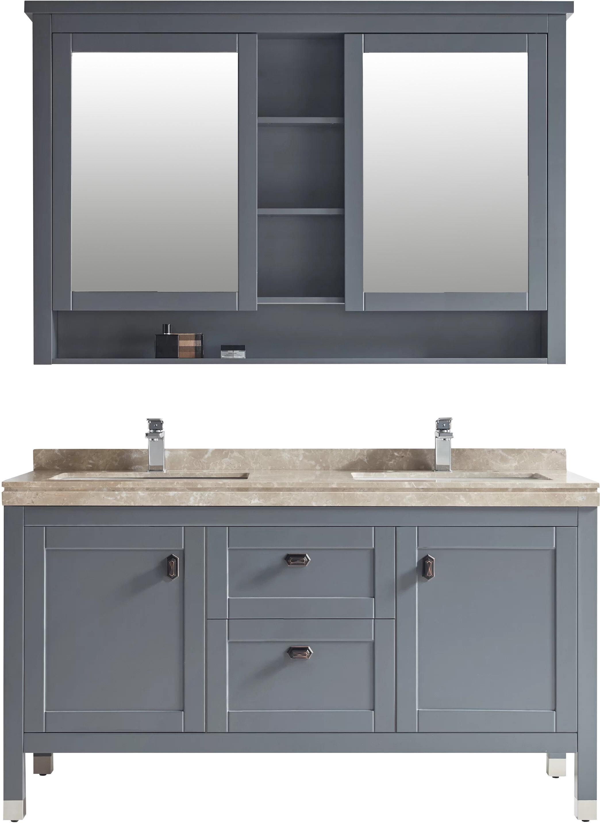 Keisler 60 Double Bathroom Vanity Set