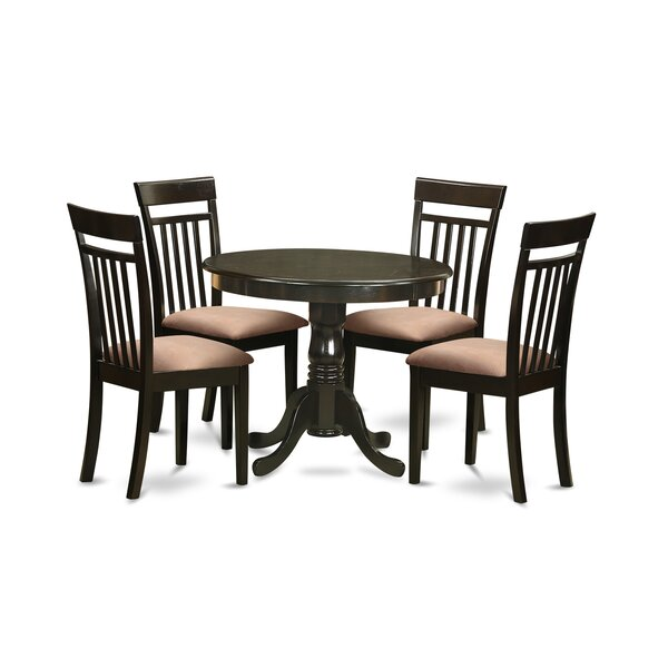 Steeves 5 Piece Dining Set by Charlton Home Charlton Home
