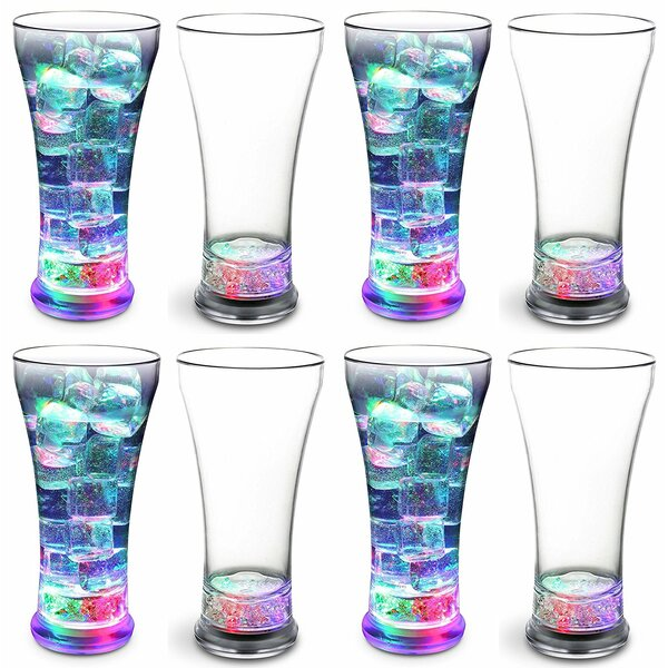 Laskey LED Party 14 oz. Insulated Tumbler (Set of 8) by Winston Porter